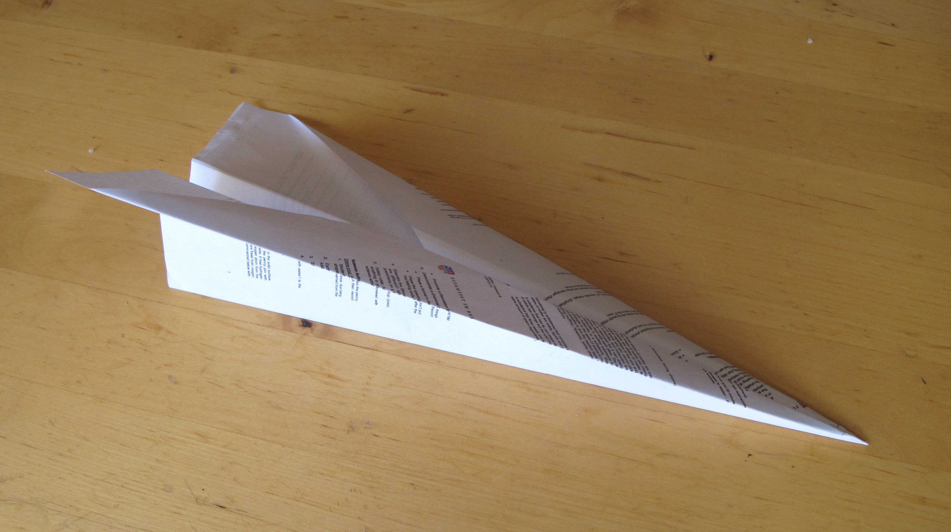 aeroplane physics essay Investigate whether the distance a paper plane flies is affected by increasing how much paper airplanes: why flaps and folds matter forces, drag, physics.