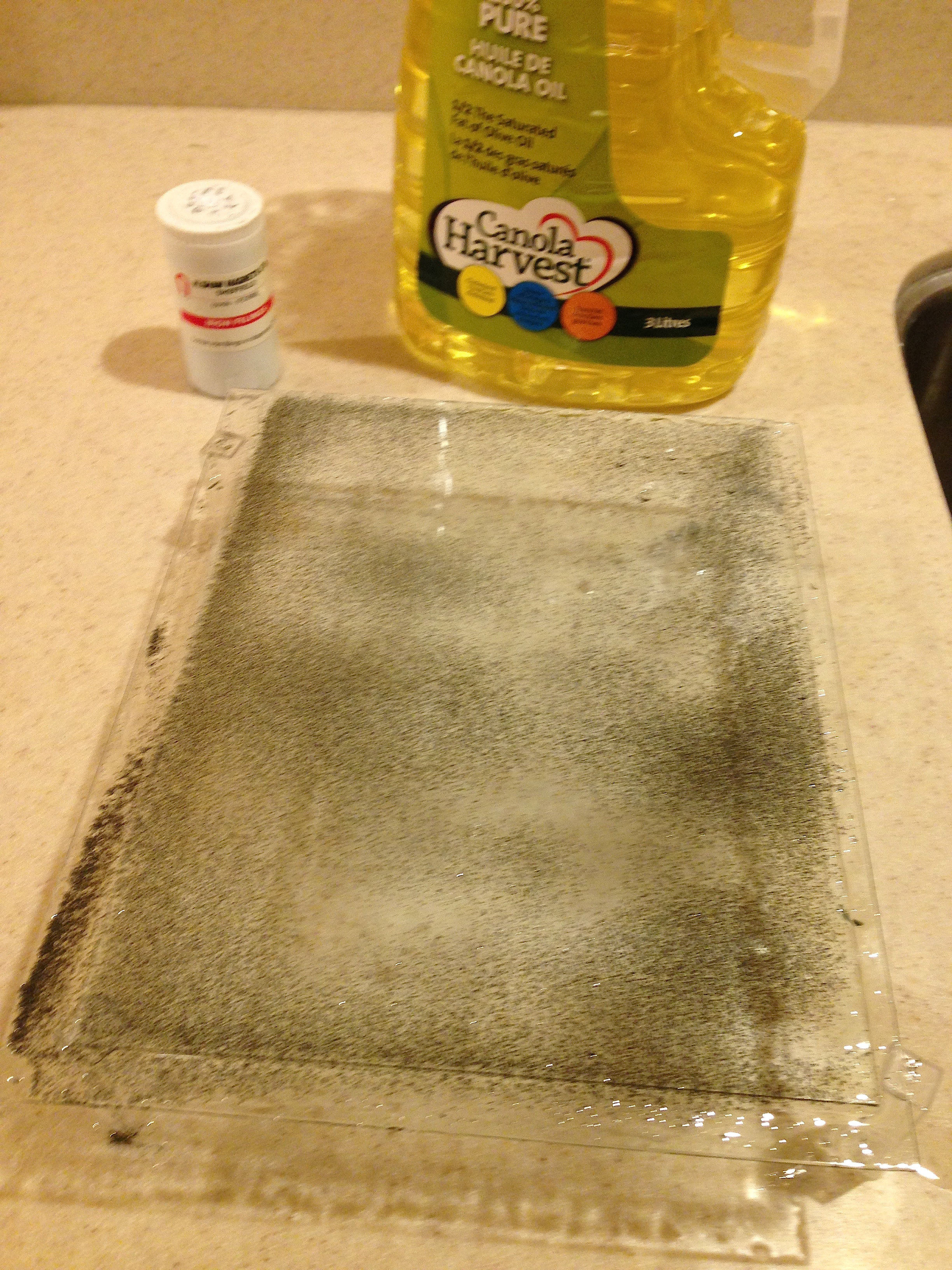 how to make iron filings at home