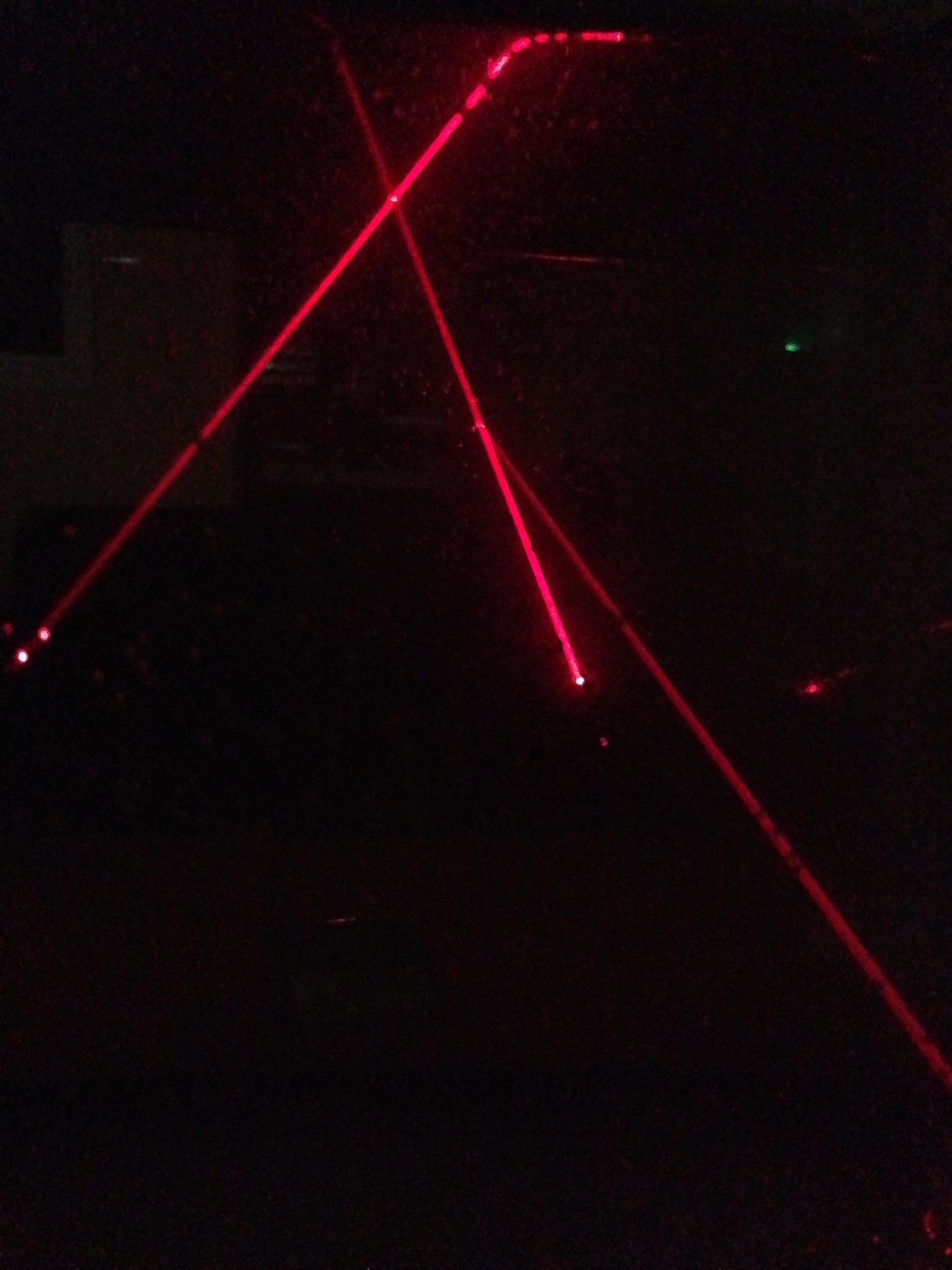 Laser Beam In A Tank Of Water Ingridscience Ca