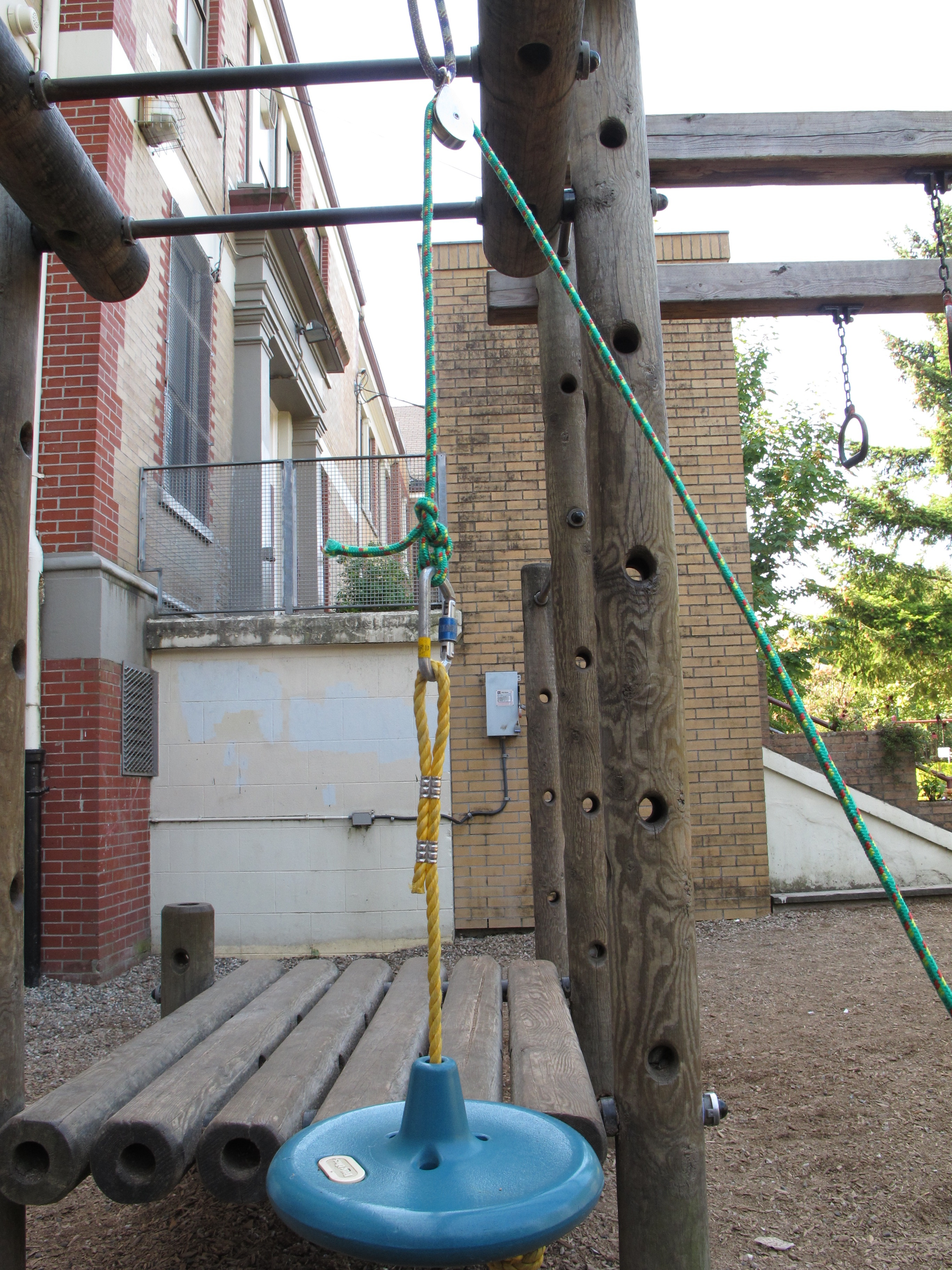 Simple Wooden Swing